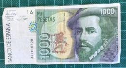 1000 PESETAS - [ 4] 1975-…: Juan Carlos I.