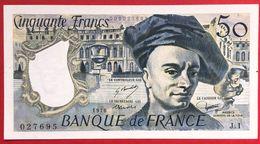 N°106 BILLET BANQUE DE FRANCE 50 FRANCS QUENTIN DE LA TOUR 1976 - 1962-1997 ''Francs''