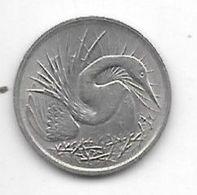 Singapore 5 Cents 1980 Km 2 - Singapore