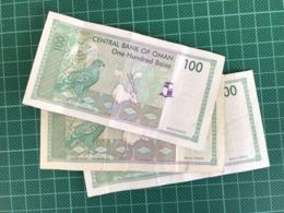 100 BAISA 3 BILLETS - Oman
