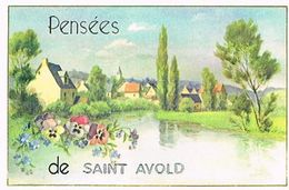 57  PENSEES  DE  SAINT AVOLD  CPM  TBE  57-1 - Saint-Avold