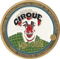 S&P115 - MONACO - Festival Du Cirque De Monte-Carlo (Fautée) / SOUVENIRS ET PATRIMOINE - Tourist