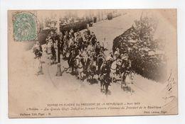 - CPA VOYAGE EN ALGÉRIE DU PRÉSIDENT DE LA RÉPUBLIQUE - Avril 1903 - L'Arrivée - Les Grands Chefs Indigènes... - Andere Städte