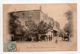 - CPA RELIZANE (Algérie) - Place De La Mina 1906 - Hôtel De La Paix (belle Animation) - - Andere Städte