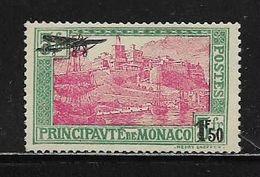 MONACO ( MCPA - 1 )  1933  N° YVERT ET TELLIER  N° 1  N** - Poste Aérienne