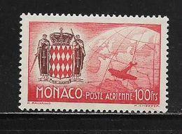 MONACO ( MCPA - 3 )  1941  N° YVERT ET TELLIER  N° 7  N** - Airmail