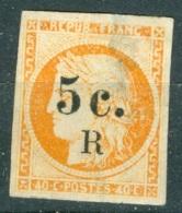La Réunion   6  Ob  Defectueux Voir Scan Et Description - Reunion Island (1852-1975)