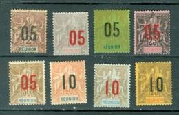 La Réunion   72/79  ( * ) Et Ob      Voir Scan Et Description - Reunion Island (1852-1975)
