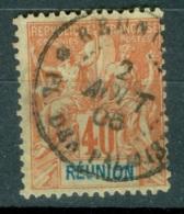 La Réunion   41  Ob  TB  Obli  Plaine Des Palmistes        Voir Scan Et Description - Reunion Island (1852-1975)