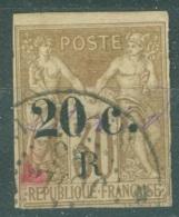La Réunion   10  Ob  Second Choix    Voir Scan Et Description - Reunion Island (1852-1975)