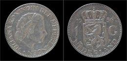 Netherlands Juliana 1 Gulden 1956 - 1948-1980 : Juliana