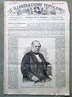 L'illustrazione Popolare 3 Febbraio 1889 Posillipo Candelora Civitavecchia Polo - Ante 1900