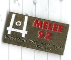 Rugby : Mélée 92 Rugby Club De Roche La Molière (42) - Poteaux - Rugby