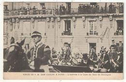 Visite De S. M. DOM CARLOS à Paris - L'Arrivée à La Gare Du Bois De Boulogne - 1906 - Recepciones