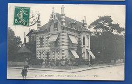 ARCACHON     Villa  Marie-Antoinette        Animées  écrite En 1912 - Arcachon
