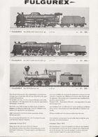 Catalogue FULGUREX 1972 Informationsblatt 100° Japanischen Eisenbahnen- En Allemand Et En Français - Libros Y Revistas