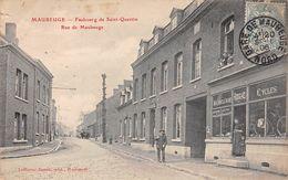 59 - N°111408 - Maubeuge - Faubourg De Saint-Quentin - Rue De Maubeuge - Cyclisme - Maubeuge