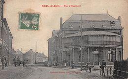 59 - N°111414 - Maubeuge - Sous-le-Bois - Rue D'Hautmont - Maubeuge