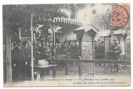 59 CAMBRAI Société D'arbalétriers Tir D'honneur Du 8 Octobre 1905 - Cambrai