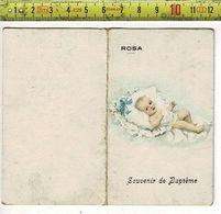 5865 - SOUVENIR DE BAPTEME - ROSA TASSIN  - NEE A FARCIENNES 1925 - Naissance & Baptême