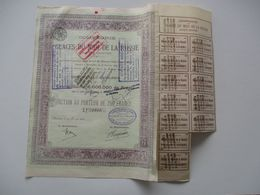 Compagnie Des Glaces Du Midi De La Russie - Charleroi - Version Capital 6 000 000 - 1899 - Russia
