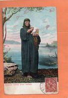 EGYPTE. FEMME FELLAH AVEC ENFANT. 1906. Achat Immédiat - Egypte