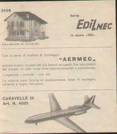 Catalogue CO-MA 1960s EDILMEC Casette HO AERMEC Aerei - En Italien - Libros Y Revistas