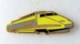 Pin's SNCF Train TGV émail à Froid époxy Fabricant BALLARD - TGV