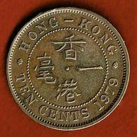 HONG KONG / TEN CENTS / DIX CENTS / 1979 SUP - Hongkong