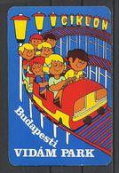 Hungary, Budapest, Amusement Park, Switchback,1975. - Kalenders