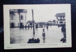 Dahomey - Carte Postale Ancienne - Les Inondations De Cotonou 1925 - Le Retour Du Marché - Dahomey