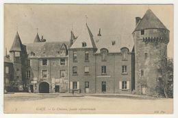 61 - Gacé - Le Château, Façade Septentrionale - Gace