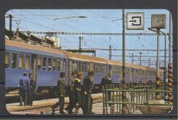 Hungary, Somewhere, Train In The Station, 1981. - Calendriers