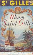1172 / ETIQUETTE -   RHUM - SAINT GILLES - Rhum