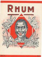 1179 / ETIQUETTE -   RHUM - Rhum