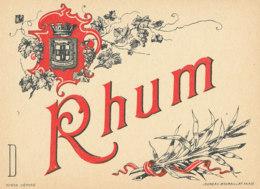 1184 / ETIQUETTE -   RHUM    N° 654 - Rhum