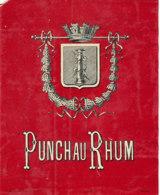1190 / ETIQUETTE -   RHUM  - PUNCH AU RHUM - Rhum