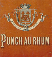 1191 / ETIQUETTE -   RHUM  - PUNCH AU RHUM   NUNQUAM  POLLUTA - Rhum