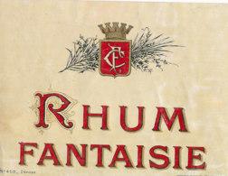 1193 / ETIQUETTE -   RHUM  - FANTAISIE  N° 459 - Rhum