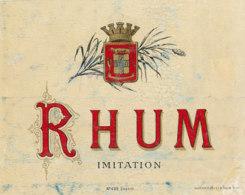 1194 / ETIQUETTE -   RHUM  -IMITATION   N° 459 - Rhum