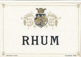 1196 / ETIQUETTE -   RHUM  -      N° 96 - Rhum