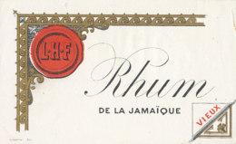 1200 / ETIQUETTE -   RHUM  - DE LA JAMAIQUE   L-H-F. - Rhum