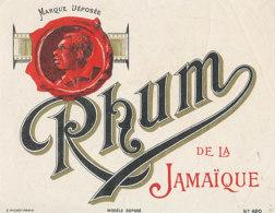 1214 / ETIQUETTE -   RHUM    - DE LA JAMAIQUE  N° 420 - Rhum