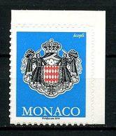 MONACO 2019 N° 3189 ** Neuf MNH Superbe Armoiries Autoadhésif Série Courante Coat Of Arms Millésime 2019 - Unused Stamps