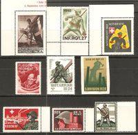 9 Timbres De 1939 ( Soldats / Neufs** ) - Posta Militare