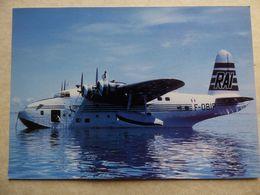 RAI / RESEAU AERIEN INTERINSULAIRE   / SHORT S25 SANDRINGHAM    F-OBIP - 1946-....: Ere Moderne