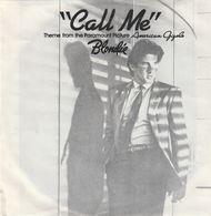 Call Me - Blondie - Chrysalis- Film American Gigolo - Richard Gere - Musique De Films