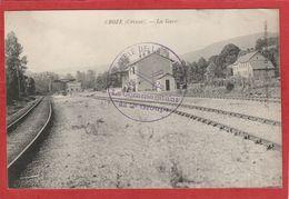 CPA: Croze (Creuse) La Gare - Autres Communes