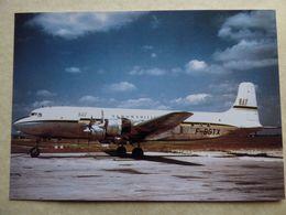 UAT / AEROMARITIME   DC 6 A/B     F-BGTX - 1946-....: Modern Era