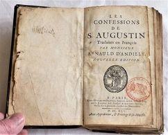 Arnaud D'ANDILLY, Les Confessions De St Augustin, 1695 - Boeken, Tijdschriften, Stripverhalen